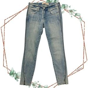 Amo Sweet cheeks twist with piping skinny jeans 24